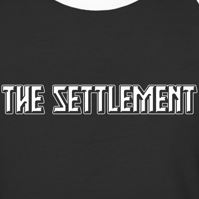 Band Name (Light, One-Color) | The Settlement