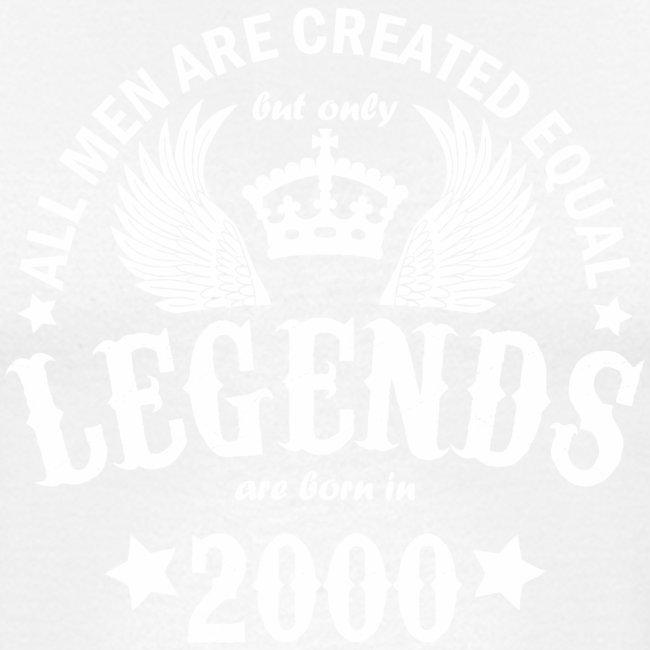 Legends are Born in 2000