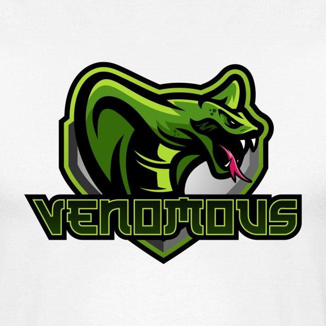 Venomous Text Logo