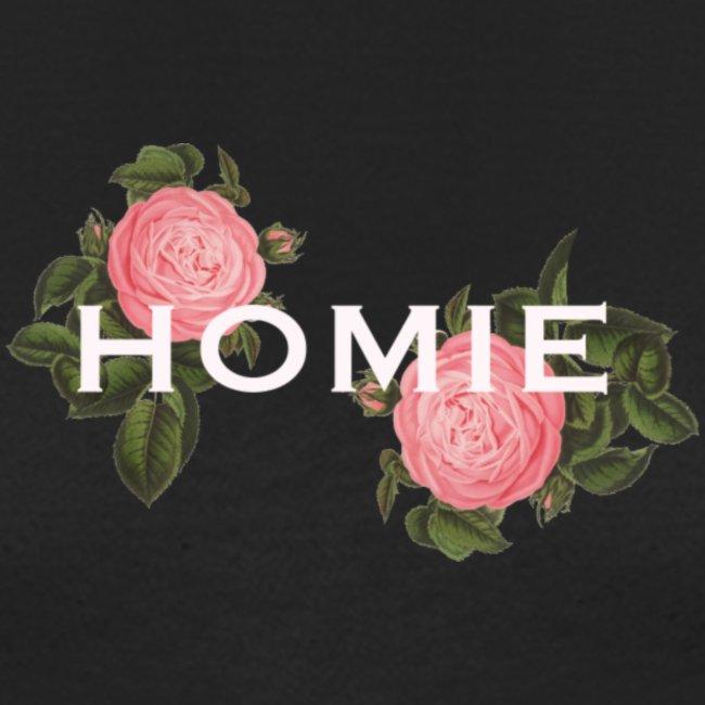 HOMIE WHT PNK ROSE