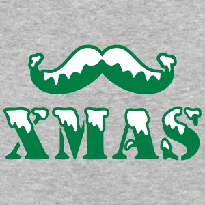 xmas beard - Baseball T-Shirt