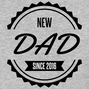 new dad since 2016 - Baseball T-Shirt