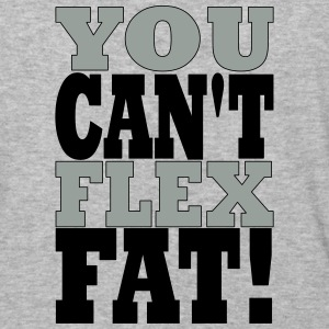 YOU CANT FLEX FAT - Baseball T-Shirt