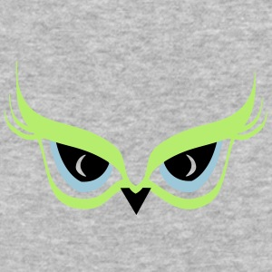 Owl Eyes - Baseball T-Shirt