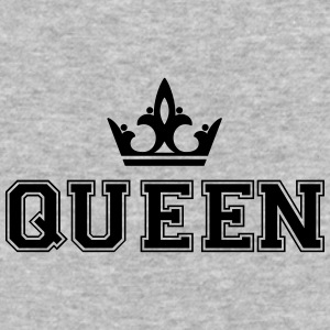 Queen_with_crown1 - Baseball T-Shirt