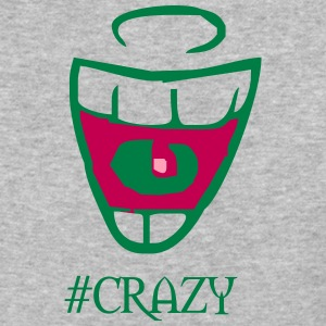 crazy - Baseball T-Shirt