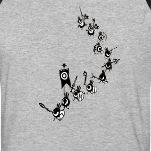 Patapon - Cascading Army - Baseball T-Shirt