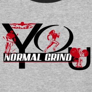 normal grind - Baseball T-Shirt