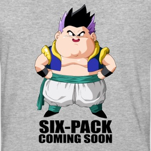 super saiyan gotenk six-pack coming soon - Baseball T-Shirt