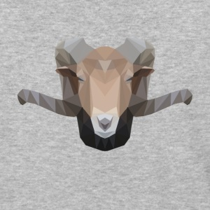 Low Poly Ram - Baseball T-Shirt