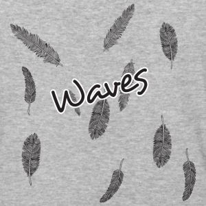 waves - Baseball T-Shirt