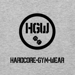 HARDCORE GYM WEAR Logo - Baseball T-Shirt