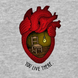You live there - Baseball T-Shirt