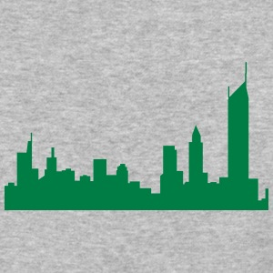 city silhouette 2 - Baseball T-Shirt