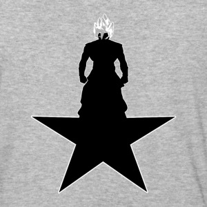 BLACK_STAR - Baseball T-Shirt