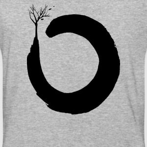 Floating Zen Three Circle - Baseball T-Shirt