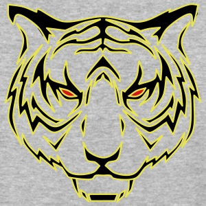 Tiger head - Baseball T-Shirt