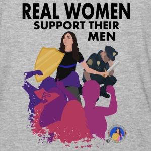 Real Women Officer - Baseball T-Shirt
