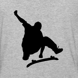 Jumping skater - Baseball T-Shirt