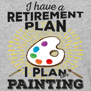 Retirement Plan Painting (dark) - Baseball T-Shirt