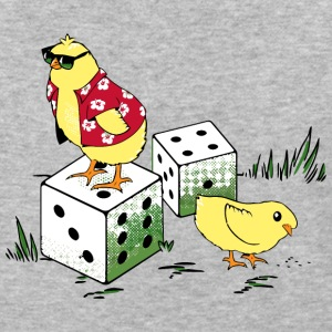 I ve Got Two Chicks and a Pair of Dice - Baseball T-Shirt