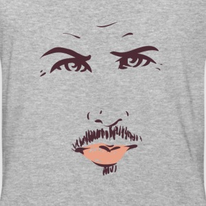 Angry man face - Baseball T-Shirt