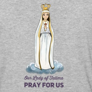 Our lady of Fatima - Baseball T-Shirt