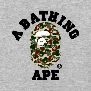 BAPE A BATHING APE - Baseball T-Shirt