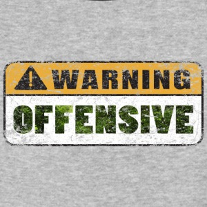Warning Offensive - Baseball T-Shirt