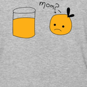 Mom Orange Juice - Baseball T-Shirt