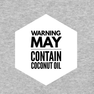 May Contain Coconut Oil 2 - Keto Diet - Baseball T-Shirt