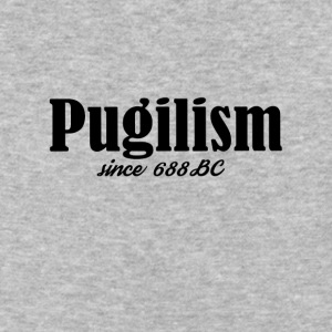 Pugilism Since 688 BC - Black Text - Baseball T-Shirt