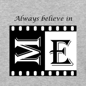 psAlways believe in ME - cool design tops - Baseball T-Shirt