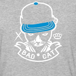 Bad Cat Geddo Cat - Baseball T-Shirt