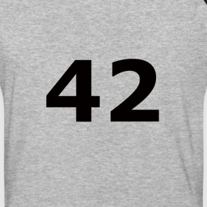 42 Ultimate ? of Life, the Universe and Everything - Baseball T-Shirt
