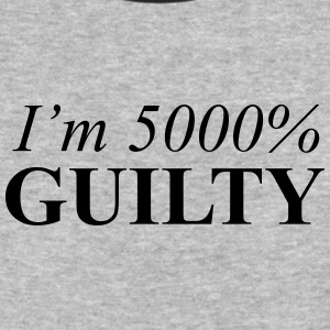 I'm 5000% Guilty - Baseball T-Shirt