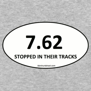 7.62 STOPPED IN THEIR TRACKS - Baseball T-Shirt