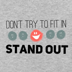 Don't fit in, Stand Out! - Baseball T-Shirt