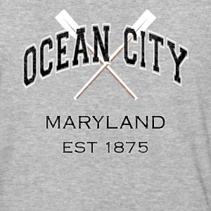 Ocean City Maryland Established 1875 - Baseball T-Shirt