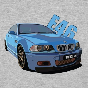 BMW M3 E46 - Baseball T-Shirt