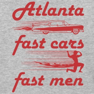 atlanta fast cars fast men - Baseball T-Shirt