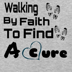 Walking By Faith Lupus Awareness Graphic Tee - Baseball T-Shirt