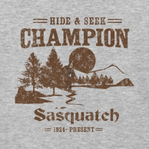Hide and Seek Champion Sasquatch T Shirt - Baseball T-Shirt