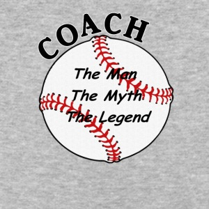 Baseball Softball Coach The Man The Myth The Lege - Baseball T-Shirt