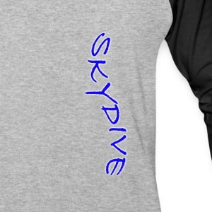 Skydive/BookSkydive - Baseball T-Shirt