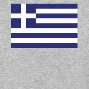 Flag of Greece Cool Greek Flag - Baseball T-Shirt