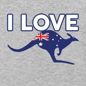 I-LOVE-AUSTRALIA - Baseball T-Shirt