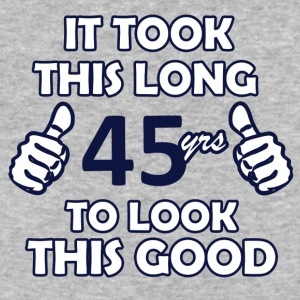 45th birthday designs - Baseball T-Shirt