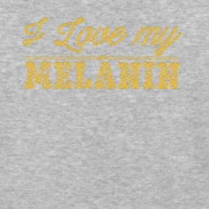 I Love My Melanin - Baseball T-Shirt