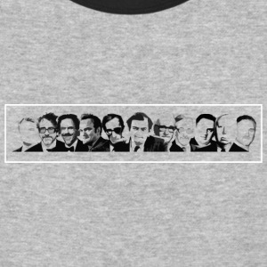 Best Film Directors Of All Time - Baseball T-Shirt